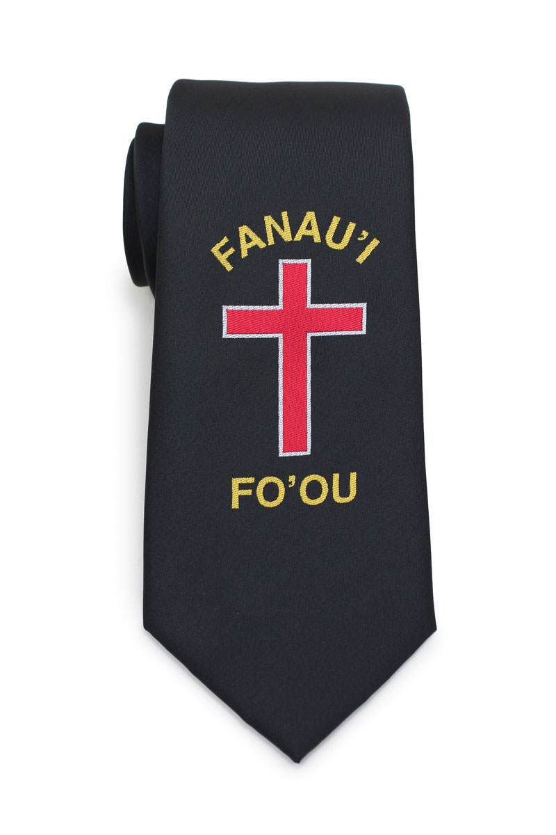 custom catholic logo neckties