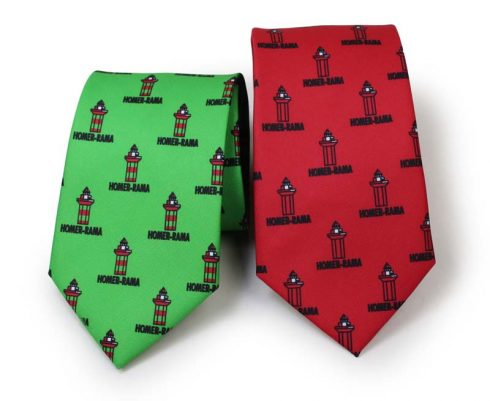 custom printed neckties microfiber
