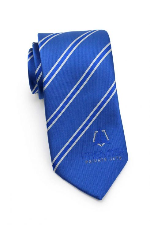 logo ties for airline uniform attire