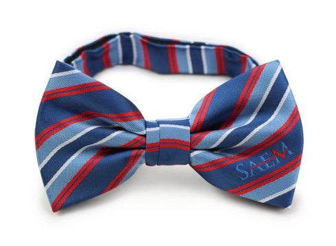 men's logo bow ties custom design