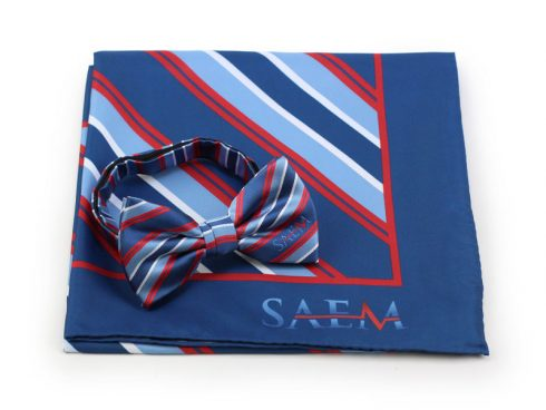 custom logo mens bow tie and womens scarves