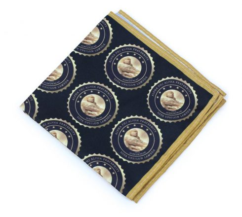 custom printed mens pocket square