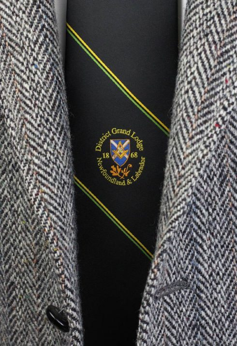 Custom Masonic Silk Neckties