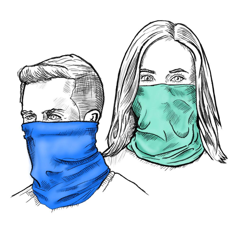 gaiter scarves for men and women